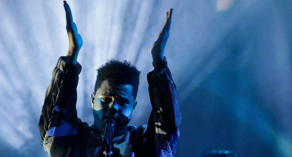 """El último disco de The Weeknd fue """"Starboy"""", lanzado en 2016. (AFP)"""
