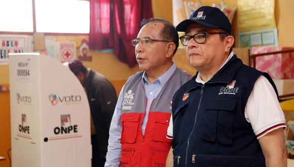 El jefe de la ONPE es investigado por el presunto favorecimiento al partido político Podemos Perú, de José Luna. (Foto: ONPE)