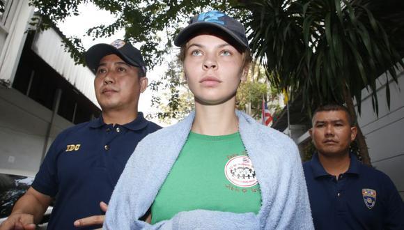 Ribka fue detenida a su llegada a Moscú, aunque las fuerzas de seguridad de Rusia habían informado que no tenían nada contra ella. (Foto: AP).