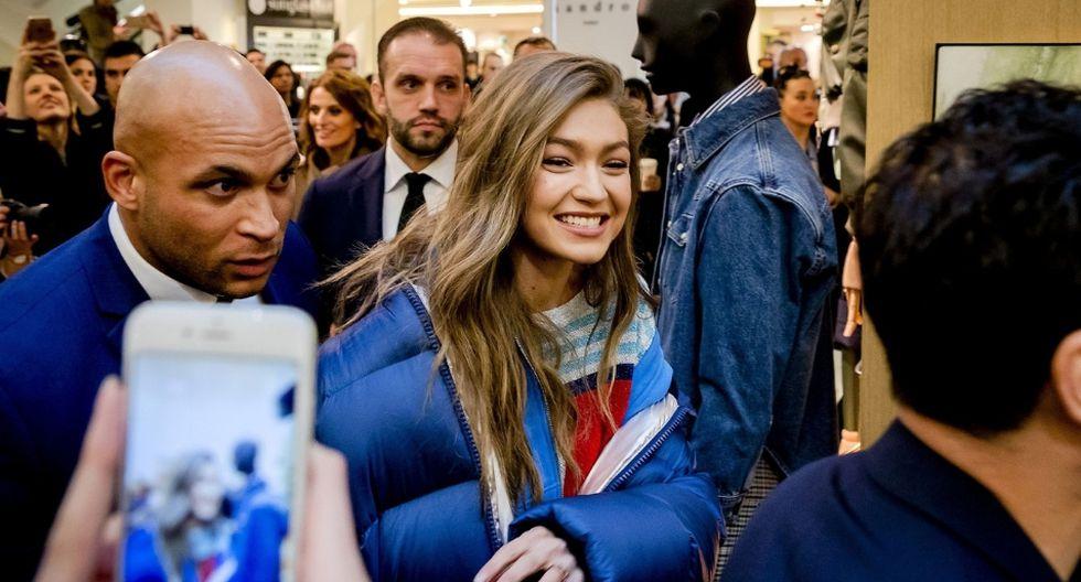 La foto subida por Gigi Hadid a Instagram acumuló miles de 'likes' en poco tiempo. (AFP)