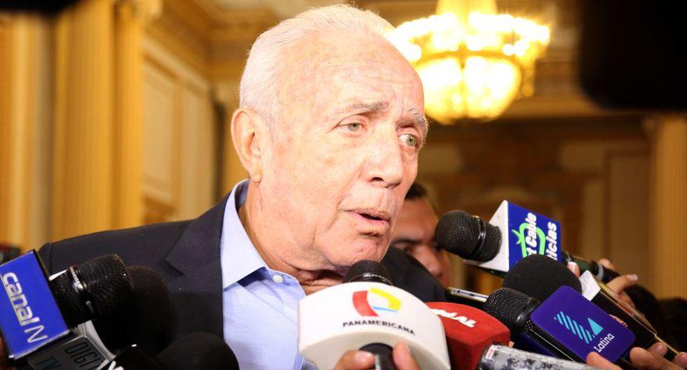 El congresista de Peruanos por el Kambio Guido Lombardi respaldó la decisión de otorgarle el cargo de ministro de Economía a Fernando Zavala. (Congreso de la República)