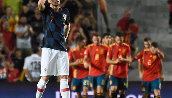 España vs. Croacia 6-0: resumen, video y todos los goles del partido por UEFA Nations League. (Foto: AFP)