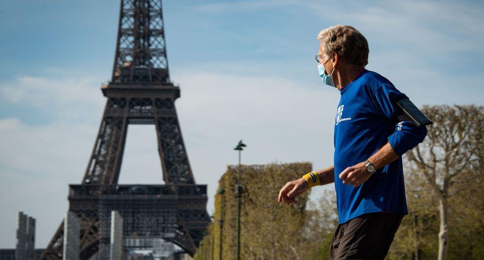 Francia se encuentra en aislamiento social por el coronavirus. (Foto: AFP)
