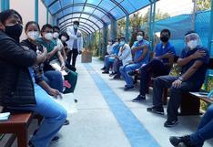 Geresa Arequipa: 78% de servidores de salud recibieron primera dosis de vacuna contra el COVID-19