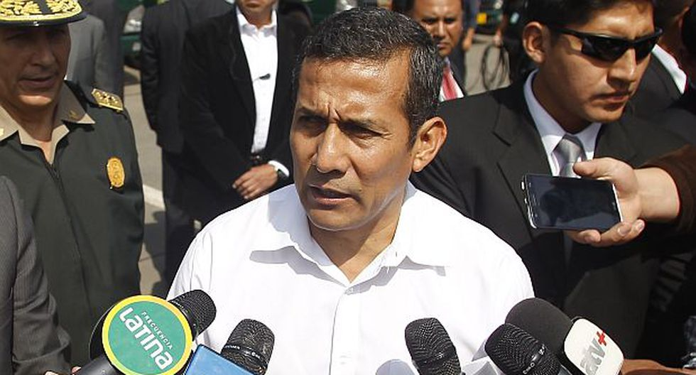 Humala dice que Belaunde Lossio será detenido de todos modos