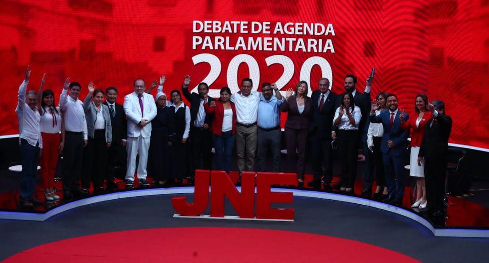El próximo debate en el marco de las Elecciones 2020 es este jueves. El tercero y último, el próximo domingo. (Foto: Alessandro Currarino / El Comercio)