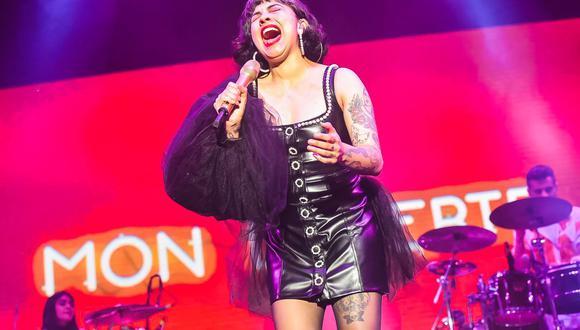 Así fue la presentación de Mon Laferte en el Plaza Arena de Surco. (Foto: Francisco Medina)