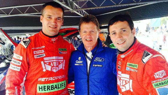 Nicolás Fuchs seguirá en equipo M-Sport con el 'padrino soñado'