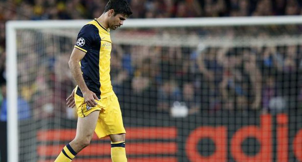 Diego Costa sufrió lesión muscular en la pierna derecha