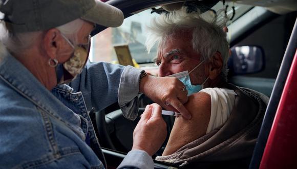 Campaña de vacunación en Nuevo México, Estados Unidos. (Foto: Reuters)