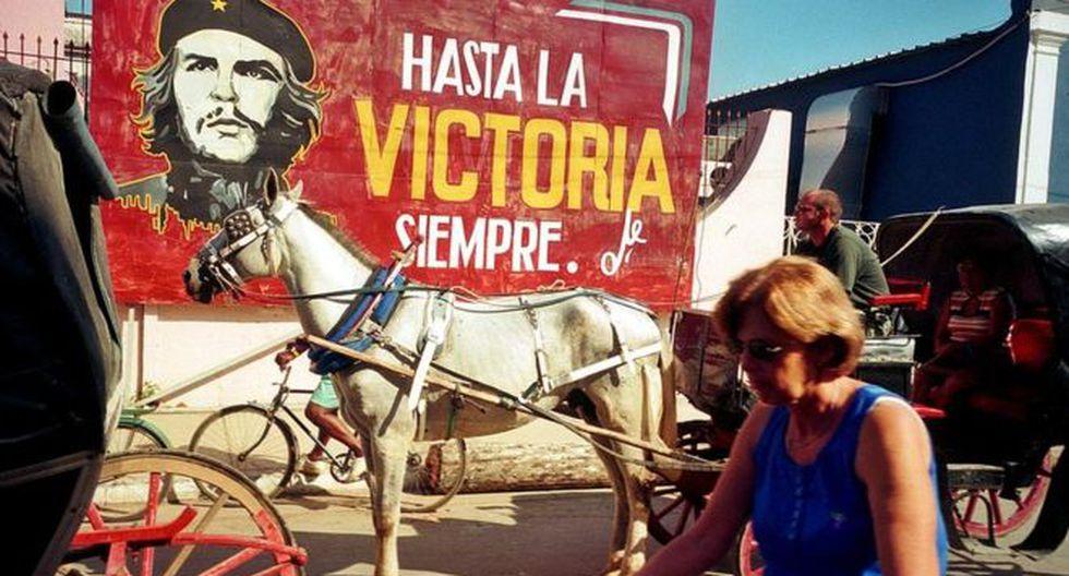 La frase más conocida de Guevara es un emblema para la izquierda mundial. (Foto: Getty Images, via BBC Mundo)