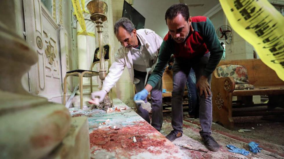 Egipto: 44 muertos dejan atentados contra iglesias cristianas - 2