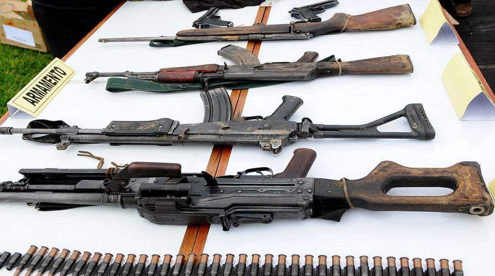 Operación en el Vraem: lo incautado a los terroristas abatidos - 1