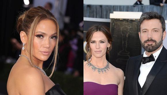 Jennifer Lopez compartió la fiesta de cumpleaños de Ben Affleck con los tres hijos que tuvo junto a su ex Jennifer Garner. (Foto: Getty Images / Composición)