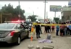 Niña de dos años murió tras ser atropellada por camión en Ate | VIDEO