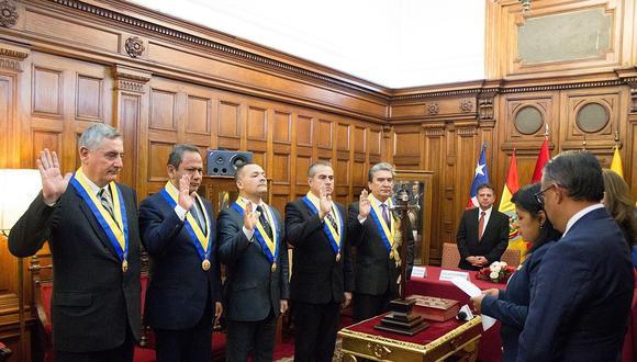 Son cinco los parlamentarios andinos peruanos y su labor es difícil de rastrear. Tienen un apartado en el portal web del Congreso de la República, pero se encuentra desactualizado, pues la última nota de prensa está fechada en marzo del 2019 (Foto: Parlamento Andino)