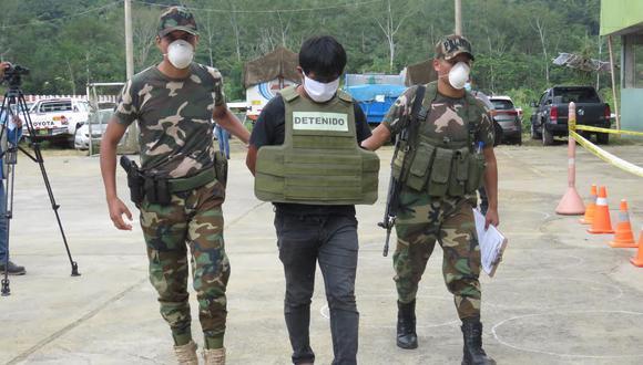 Los sindicados como responsables de los crímenes fueron detenidos por las autoridades. (Foto: Jorge Quispe Romero).