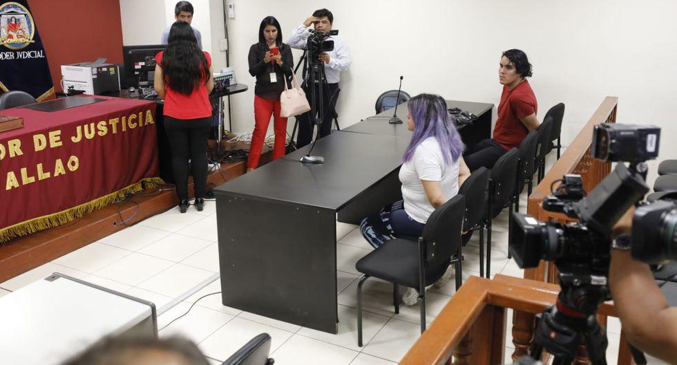 El Ministerio Público solicitó nueve meses de prisión preventiva contra Andrea Aguirre Concha y Kevin Villanueva. (Fotos: Piko Tamashiro/GEC)