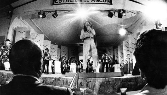 La antigua estación del tren, en Ancón, fue sede del Festival de la Canción Peruana. Foto: GEC Archivo Histórico