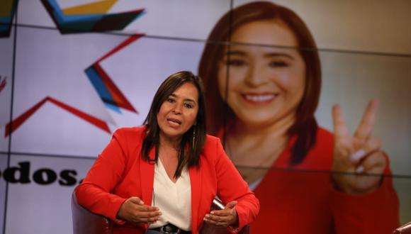 Nidia Vílchez, candidata del Apra a la Presidencia, ha solicitado una auditoría al sistema del JEE. (Foto: GEC)