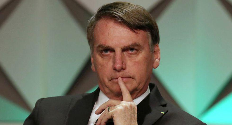 Jair Bolsonaro dice que las protestas que ocurren en algunos países de la región son lideradas por movimientos de izquierda que intentan reconquistar el poder. (Foto: Reuters)