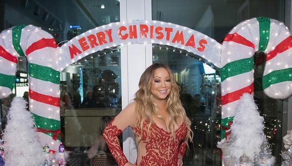 Billboard anunció que el tema navideño de Mariah Carey encabezó la lista de la semana. All I Want for Christmas Is You fue compuesta en 1994.  (Foto: AFP)
