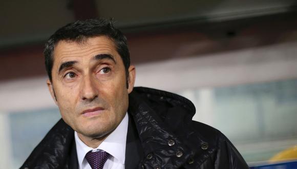 Ernesto Valverde afrontará el desafío más difícil de su carrera como entrenador. Será el nuevo jefe de equipo del Barcelona. Su misión será impregnarle un estilo propio que encante a los blaugranas. (Foto: AFP)