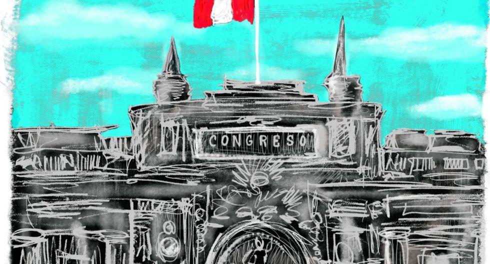 En el marco del CADE 2019 [a iniciarse hoy en Paracas], un grupo de empresarios peruanos de distintos sectores comparten con Día1 sus expectativas respecto del nuevo Congreso pronto a elegirse. [Ilustración: Giovanni Tazza].