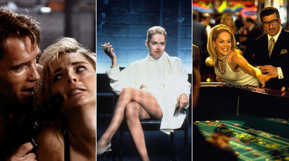 Películas de Sharon Stone. (Fotos: Difusión)