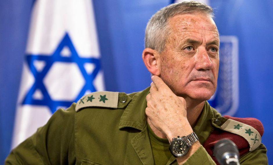 El mensaje de Gantz es claro: el objetivo es expulsar del poder a Netanyahu, al que acusa de poner en peligro las instituciones del país. (Foto: Reuters)