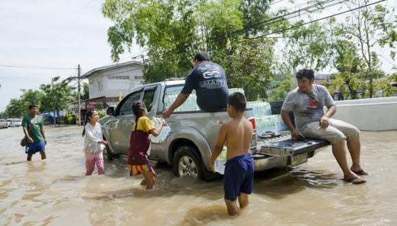 El informe destaca los riesgos que tienen los niños tras un evento extremo. Foto: Getty images, vía BBC Mundo