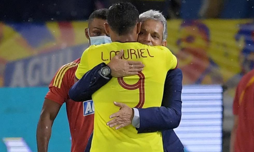Colombia empató de forma agónica 2-2 ante Argentina por las Eliminatorias Qatar 2022 | Foto: AFP