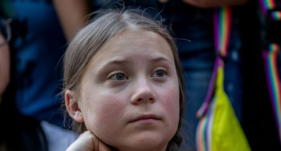 Greta Thunberg no es solo una niña enojada. REUTERS/Jeenah Moon/File Photo