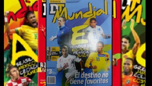 Revista DT Mundial: hoy lunes el Grupo E de Brasil 2014