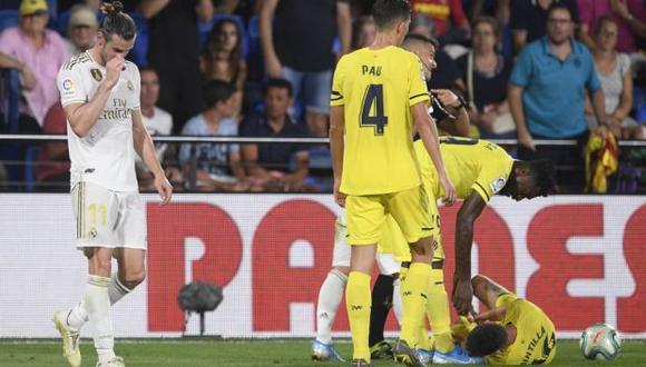 Bale dejó a Real Madrid con 10 hombres en los descuentos del enfrentamiento. (Foto: AFP)