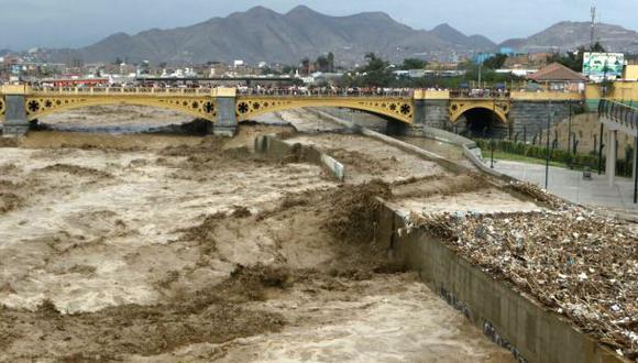 Alertan aumento de caudal en ríos Rímac, Chillón y Chancay