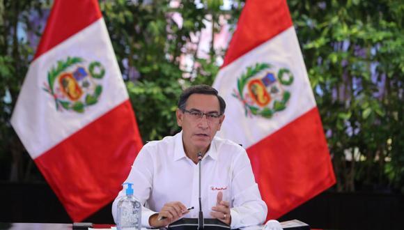 El presidente, Martín Vizcarra, indicó que están prestos al diálogo con el Congreso. (Foto: Andina)
