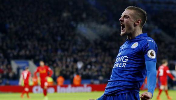 Leicester City ganó 3-1 a Liverpool por la Premier League