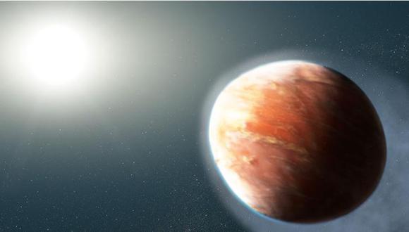 Ilustración de 'WASP-121b' (Imagen: NASA, ESA, J. OLMSTED STSCL)