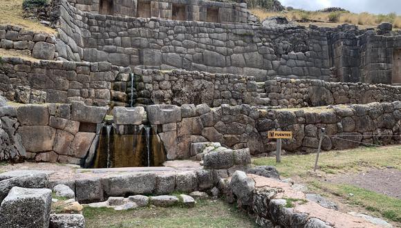 Para reactivar el turismo nacional, el Ministerio de Cultura abrió las visitas a 11 parques arqueológicos, entre ellos, Tambomachay, en Cusco. (Foto: Maria Claudia Alba / GEC)