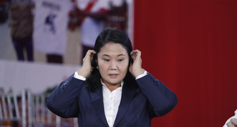 """Durante las últimas cinco semanas, Keiko Fujimori, de Fuerza Popular, ha denunciado """"un fraude en mesa"""". El JNE ha rechazado todas sus apelaciones. (Foto: GEC)"""