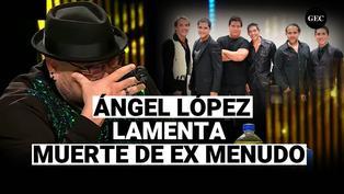 Yo Soy: Ángel López se quiebra por muerte de Ray Reyes ex integrante de Menudo