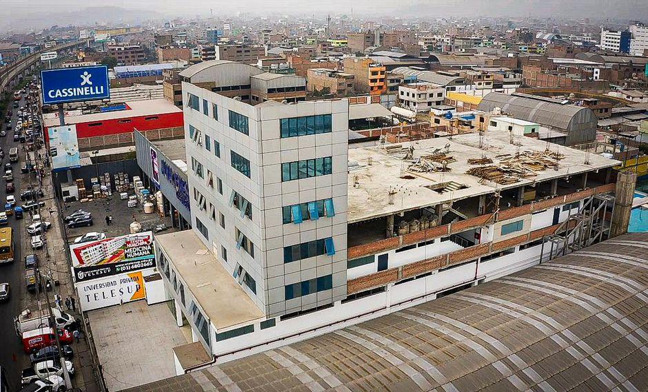 La Universidad Privada Telesup fundada en el 2004, de propiedad del ex congresista José Luna Gálvez, inició su proceso de licenciamiento en octubre del 2017. (Foto: Daniel Apuy/GEC)