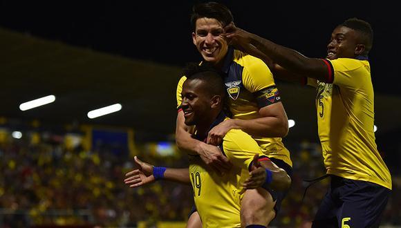 Ecuador vapuleó a Bolivia en partido amistoso por fecha FIFA disputado en el estadio Alejandro Serrano Aguilar. (Foto: AFP)