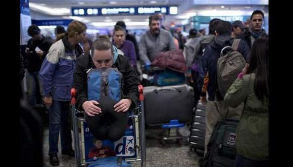 Paro en Argentina provocó cancelaciones y retrasos en vuelos