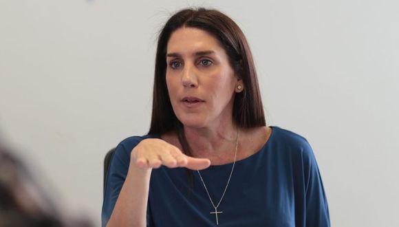 La congresista Carolina Lizárraga solicitó indagación de la denuncia contra el cuñado del presidente Martín Vizcarra. (Foto: Juan Ponce / GEC)