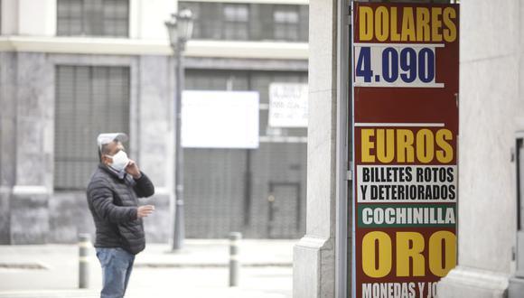 El dólar tiene un avance de 13,32% en lo que va del 2021, en comparación al resultado anotado al cierre del año pasado. (Foto: Britanie Arroyo / GEC)