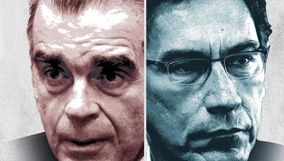 """""""No hay forma de declararse en rebeldía a la decisión. Sino pueden ser destituidos"""". Óscar Urviola, constitucionalista. (Composición: El Comercio)"""