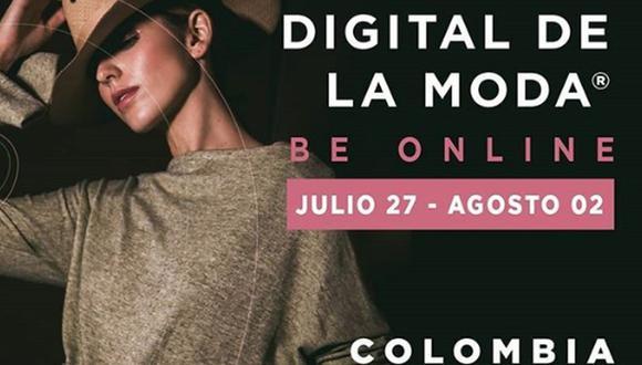 Colombiamoda 2020 contará con una tienda virtual para comprar desde distintos lugares del mundo. (Foto: inexmoda / Instagram)