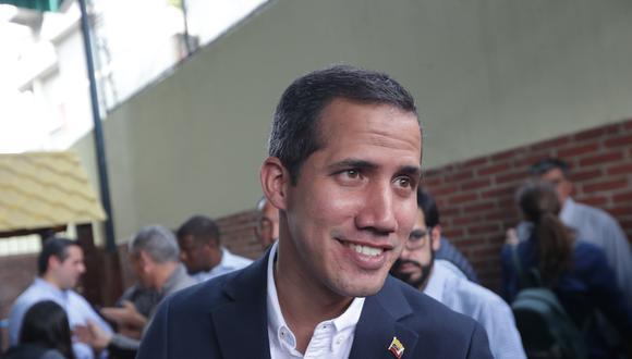 El líder opositor y presidente encargado de Venezuela, Juan Guaidó. (Foto: EFE)